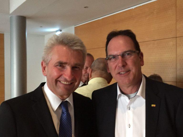 FDP Lohmar trifft Wirtschaftsminister Prof. Dr. Andreas Pinkwart